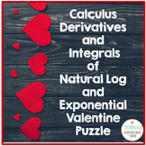Calculus Derivative and Integral of Natural Log and Expone
