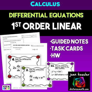 Calculus Differential Equations 1st Order Linear