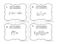 Calculus Integration by u-substitution Task Cards