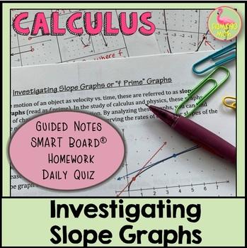 Calculus: Investigating Slope Graphs
