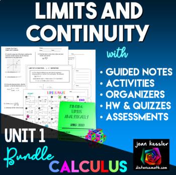 Calculus Limits Bundle of Resources