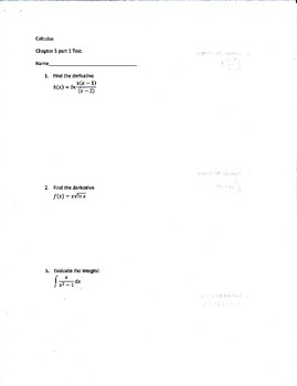 Calculus Logarithmic, Exponential, and Other Transcendenta