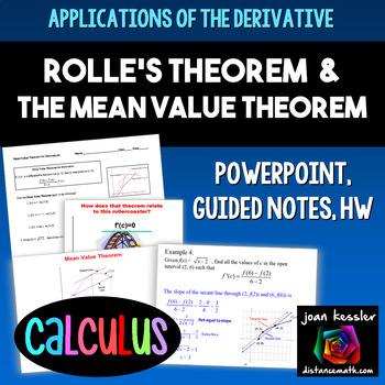 Calculus Mean Value Theorem