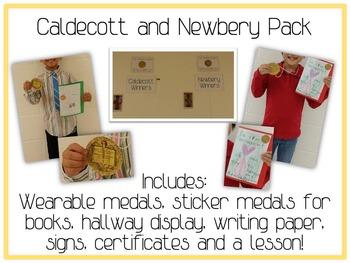 Caldecott & Newbery Award Winners Unit - Students Writing