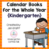 No Prep: Calendar Books for the Whole Year {Kindergarten}