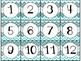 Calendar Cards Set - 4 designs (Aqua and Gray)