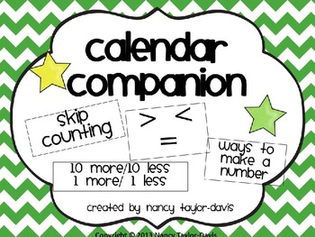 Calendar Companion (Green Chevron)