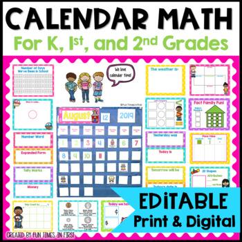 Calendar Companion ( Bright Polka Dots)