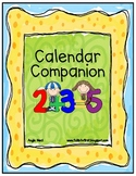 Calendar Companion/Notebook for First Grade