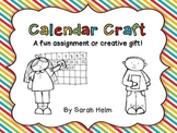 Calendar Craft or Gift