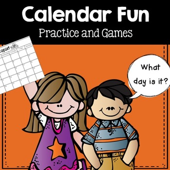 Calendar Fun- games, abbreviations, and learning to read a