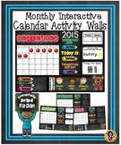 Calendar Interactive Activity Walls ~ 2015-2016