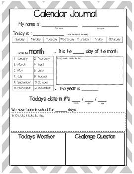 Calendar Journal - free