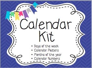 Calendar Kit- Pattern