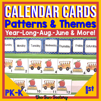 Calendar Kit Pieces For the Year Which Are Themed and Teac