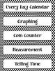 Calendar Math Bulletin Board Headings, Charts & Graphs - B