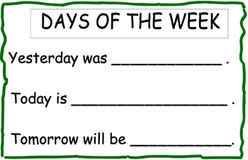Calendar Math: Today, Yesterday and Tomorrow