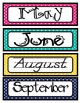 UPDATE!! Calendar Month labels with 2014-2018 year labels,