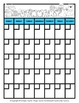 Calendar -Monthly Calendar (Sun. to Sat.) & Monthly Inform