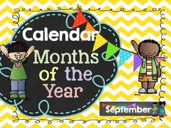 Calendar: Months of the Year
