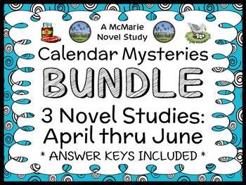 Calendar Mysteries: April thru June BUNDLE (Ron Roy) 3 Nov