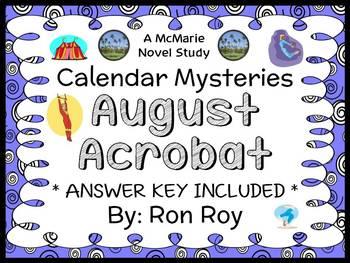 Calendar Mysteries: August Acrobat (Ron Roy) Novel Study /