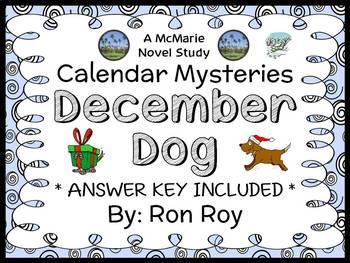 Calendar Mysteries: December Dog (Ron Roy) Novel Study / R
