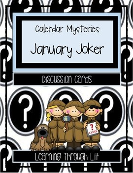 Calendar Mysteries JANUARY JOKER - Discussion Cards