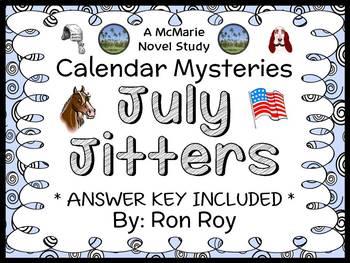 Calendar Mysteries: July Jitters (Ron Roy) Novel Study / R