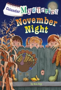 Calendar Mysteries NOVEMBER NIGHT - Brand New Paperback!