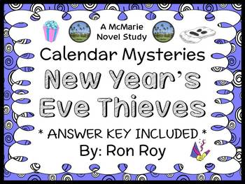 Calendar Mysteries: New Year's Eve Thieves (Ron Roy) Novel