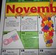 Calendar November & January Laminated 21 X 16 Writing Prom
