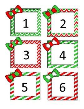 Calendar / Number Cards