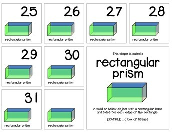 "Calendar Numbers (2.5"" x 2.5"") :: Featuring the RECTANGULA"