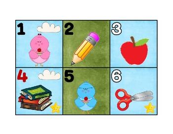 Calendar Patterns for Teaching Math (Back to School)