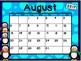 Calendar - Penguin Theme - School Year Calendar