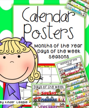 Calendar Posters by Kinder League