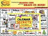 """""""Calendar SECRETS!"""" from the Secret Stories®"""
