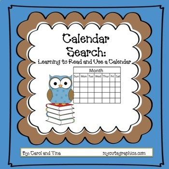 Calendar Search-Learning to Read and Use a Calendar