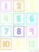 Calendar Set - Pastel Chevron