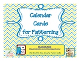 Calendar Shape Cards
