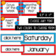 Days of the Week  ~ Editable Whimsical Theme