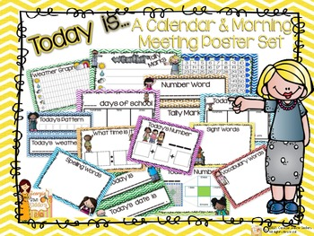 Morning Meeting Calendar Time