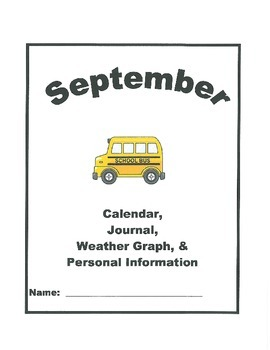 Calendar, Weather Graph, Journal, and Personal Information