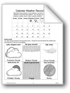 Calendar Weather Recorders