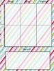 Calendar and Planner 2015-2016- two block style