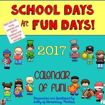 Calendar of Fun 2017