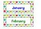 Calendar pack {Colored Spots}