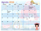 Calendario Académico Agosto 2016 - Mayo 2017 Princesas de Mar