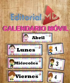 Calendario Movil Para Imprimir